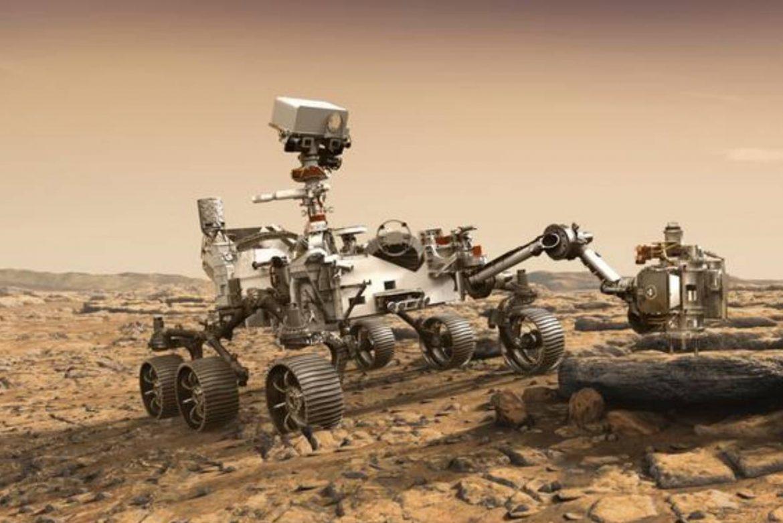 Perseverance Uzay Aracı Mars'a İndi